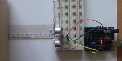 Measure Distance using Ultrasonic Sensor and Arduino Uno