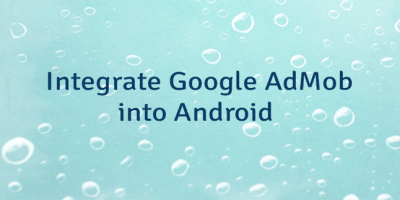Integrate Google AdMob into Android