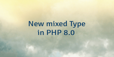 New mixed Type in PHP 8.0