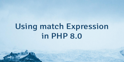 Using match Expression in PHP 8.0