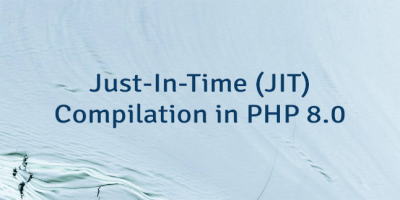 Just-In-Time (JIT) Compilation in PHP 8.0