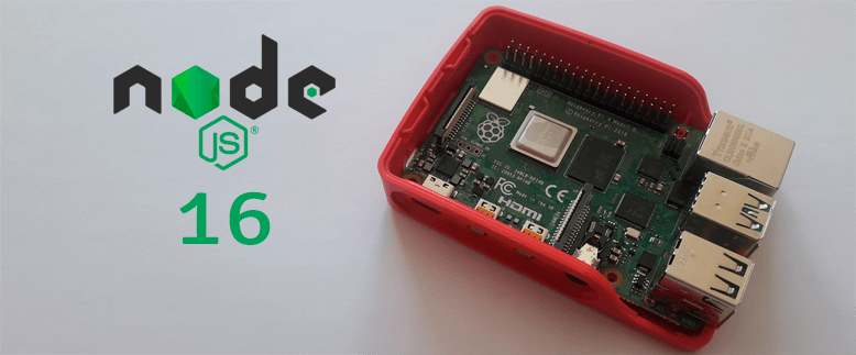 Install Node.js 16 and npm on Raspberry Pi