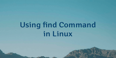 Using find Command in Linux
